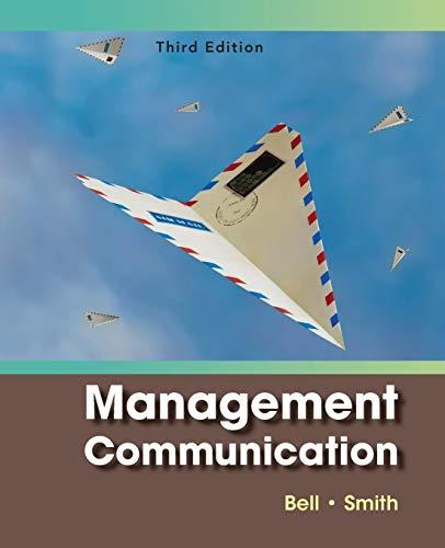 Management Communication, 3rd Edition