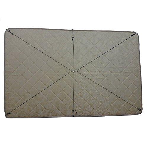 Toweter corda di nylon materasso sotto il letto / lenzuolo chiusura, cinghie lenzuolo attraversano le bretelle, fodera di fissaggio, bande di clip lunga cinghia (B) - Corda Angolo