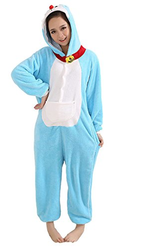 Adult Pyjama Cosplay Tier Onesie Fasching Halloween Kostüm Cartoon Costume Onesie Animal Pyjamas Cosplay (Halloween-pyjama Adult)