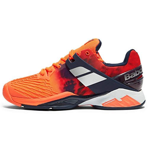 Babolat Propulse Fury all Court, Scarpe da Tennis Uomo, Rosso (Red 201), 45 EU