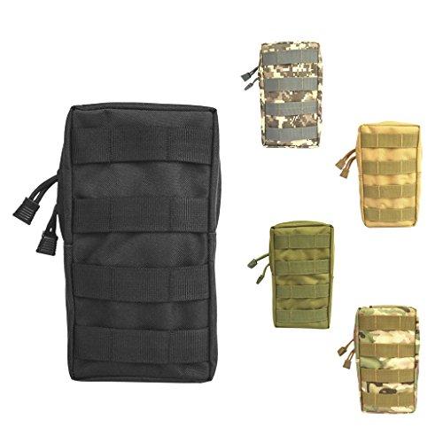 Color Caqui tama/ño Talla /única Bolsillo para Llaves EDC Mini Key Holder Monedero Bolsa Encendedor Bolsa Llavero con Cierre Bolsa de Camuflaje para Camping al Aire Libre Senderismo