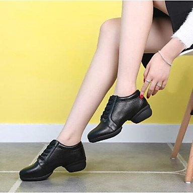 Wuyulunbi@ Donnes Dance Sneakers Split Sole Sneaker Outdoor tacco basso Rosso Nero Bianco 1 US7.5 / EU38 / UK5.5 / CN38