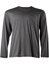 Jockey XXL Camiseta de pijama de manga larga gris
