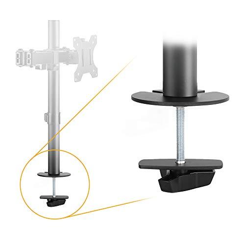 RICOO Monitor Tischhalterung Zubehör Z5811 Tischlochmontage-Set für Monitorständer