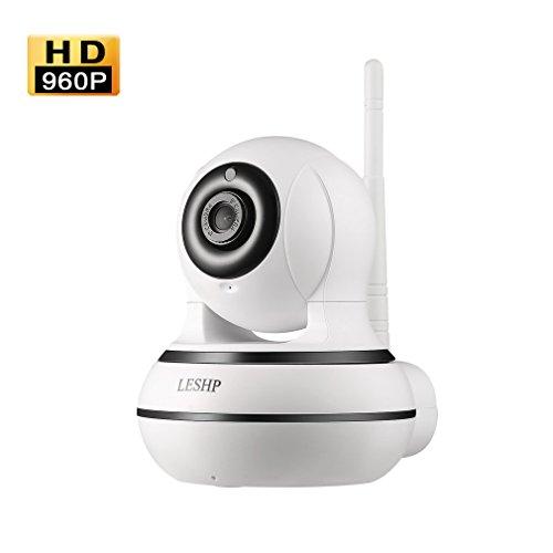 Galleria fotografica IP Camera 960P Videosorveglianza Wireless HD**Wifi/Ethernet/CodeQR**APP Supporto Audio Bidirezionale Visione Notturna Remoto Controllo per iPhone Android iPad e PC(L'ultima Versione)