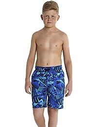 Speedo Boy's Printed Leisure 17-Inch Swimsuit
