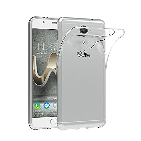 Wiko U Feel Prime Case, AICEK Wiko U Feel Prime Silicon Soft TPU Case Crystal Clear Premium Anti Slip Scratch Resistant Case Back Protector Cover for Wiko U Feel