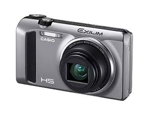 """Casio Exilim Ex ZR400 Appareil photo numérique 7,62"""" 12,5x USB Argent"""