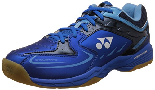Yonex Power Cushion 75 scarpe da badminton, Blue, 9 UK