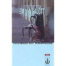 Emilia Galotti: Textausgabe mit Materialien Klasse 11-13 (Editionen für den Literaturunterricht)
