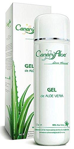 Preisvergleich Produktbild Canaryaloe Aloe Vera Gel 99% 250ml kaltgepresst von Fuerteventura