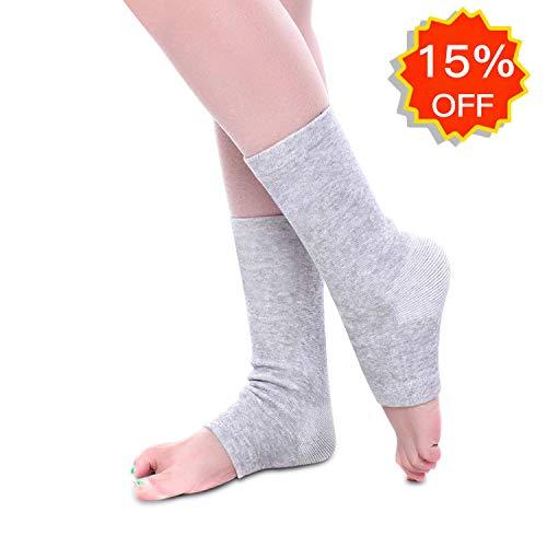 EULANT Hochelastisch Fußgelenk Bandage Kompressionsstrümpfe für Sport & Wärme, Cotton -