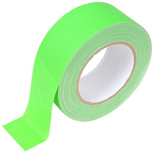 Fama 90762Neon Tessuto nastro 50mm x 25m verde