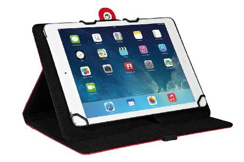 Wedo 58709702 TrendSet Case (mit Universalhalter für Tablet-PC (9,7 bis 10,5 Zoll)) rot