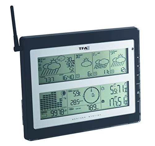 TFA Meteotime Duo 35.1100 Stazione meteorologica radio, previsioni professionali con segnale DCF