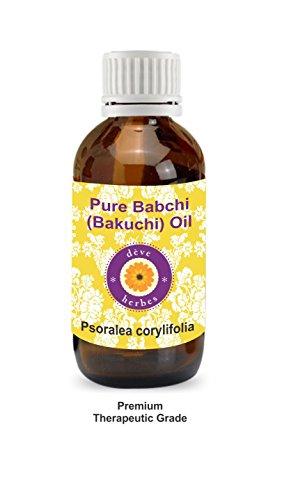 Deve Herbes Pure Babchi Oil 30ml (Psoralea corylifolia) 100% Natural Therapeutic Grade (1.01oz)