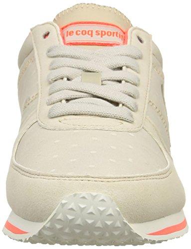 Le Coq Sportif Bolivar W Dots, Sneaker Basse Donna Beige (Beige (Gray Morn/Fiery Coral))