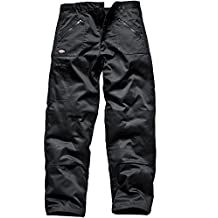 Dickies Redhawk Action WD814, Pantalones de trabajo, Negro, 42R