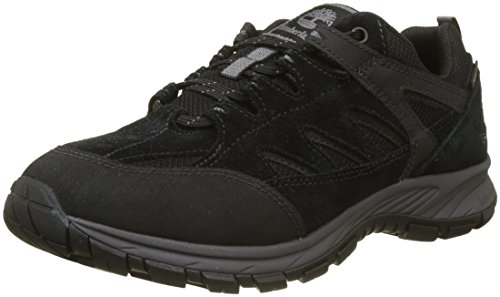 Timberland Sadler Pass Waterproof Low Goretex (Wide fit), Zapatillas para Hombre, Negro...
