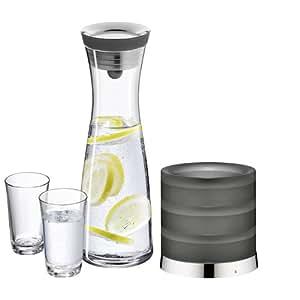 wmf 0617709998 wasserkaraffe basic 1 liter mit k hler und. Black Bedroom Furniture Sets. Home Design Ideas