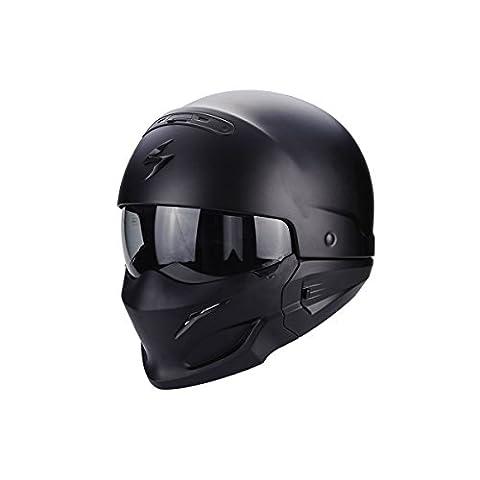 Scorpion Casque Moto exo-combat Ratnik, Matt Black, M