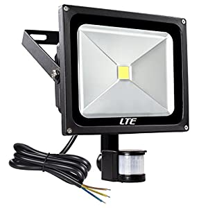 LTE Super bright 50W LED Floodlight,Daylight White,Waterproof Motion Sensor Light with PIR,security light sensor for Home,Garden,Garage etc. by OU SHANG INTERNATIONAL (HONG KONG) LIMITED