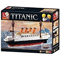 Sluban Mini Titanic Block Bricks Educational Toy,194 Piece Multi Color
