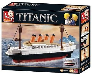 Sluban Mini Titanic Block Bricks Educational Toy,194 Piece Multi Color