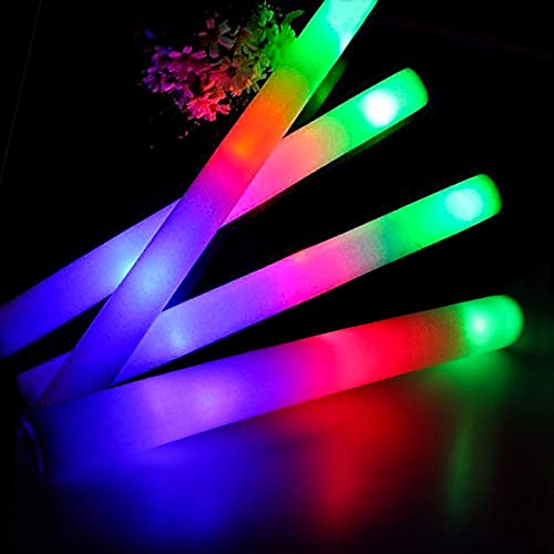 Costume Props Boy Man Adjustable Extendable Led Glow Stick Sword Light Sticks Concerts Toy Party Glow Wand Weapon Christmas Long Performance Life