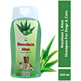 Rossloza Aloe Vera Dog and Cat Pet Shampoo, 200 ml