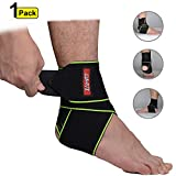 Best Ankle Supports - ZAMAT Non-Slip Compression Ankle Brace, Adjustable Ankle Support Review