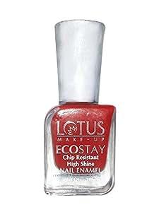 Lotus Herbals Ecostay Nail Enamel, Coral Shine E3, 10ml