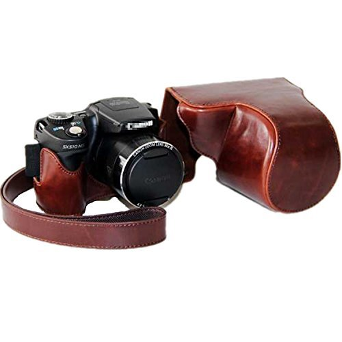 xhorizon-tm-fl1-protective-leather-camera-case-bag-for-canon-powershot-sx500-hs-sx510-hs-with-strap-
