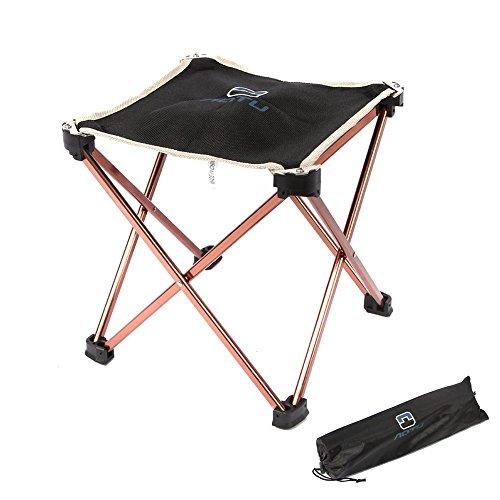 Rayami nuovo portatile, pieghevole, telaio in lega di alluminio da campeggio pieghevole sgabello antistrappo oxford panno di piedi antiscivolo outdoor sedia per campeggio caccia e pesca picnic
