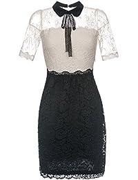 Vive Maria Neo Victorian Kleid creme/schwarz