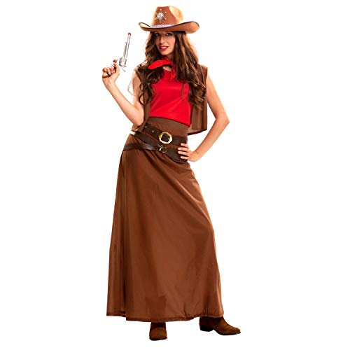My Other Me Damen Kostüm Cowgirl (viving Costumes) -