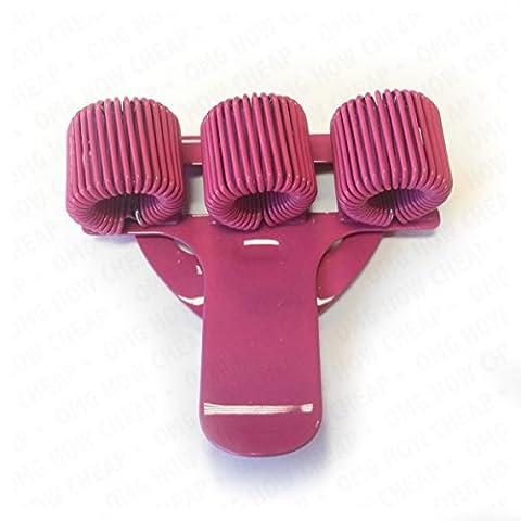 Porte stylo triple en métal avec clip de poche–idéal pour Médecins / infirmières / Pilotes–1 par