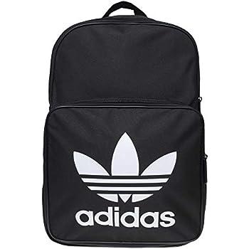 5e93557c adidas Unisex's Classic Trefoil Backpack, Black, 15 x 28.5 x 42 cm