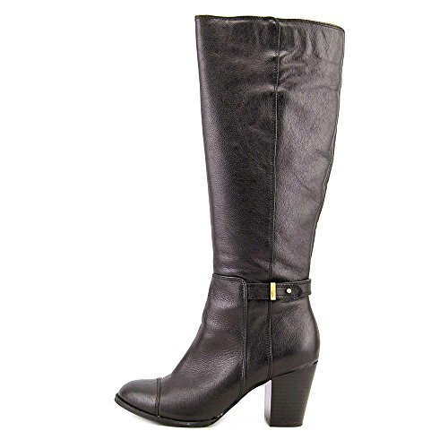 Giani Bernini Ellee Cuir Botte Black