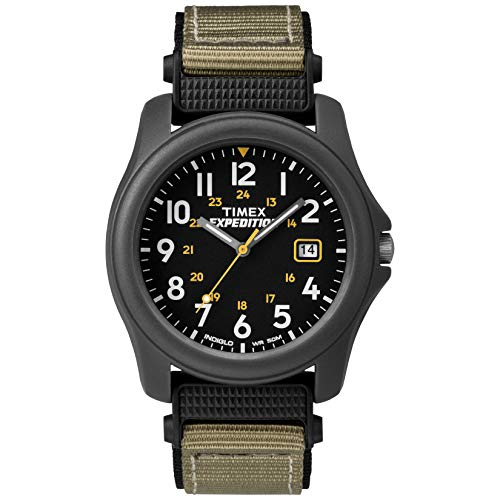 Timex Herren-Armbanduhr Expedition Herren-Armbanduhr XL Analog Nylon T425714E