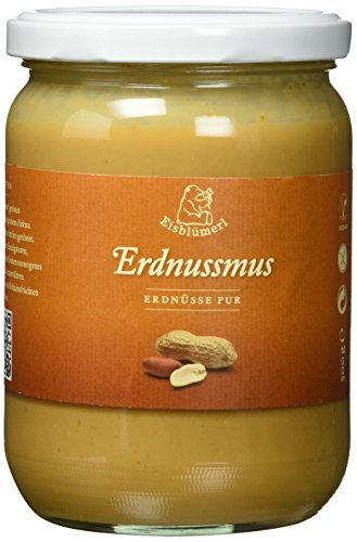 Eisblümerl Bio Erdnussmus, 2er Pack (2 x 500 g)