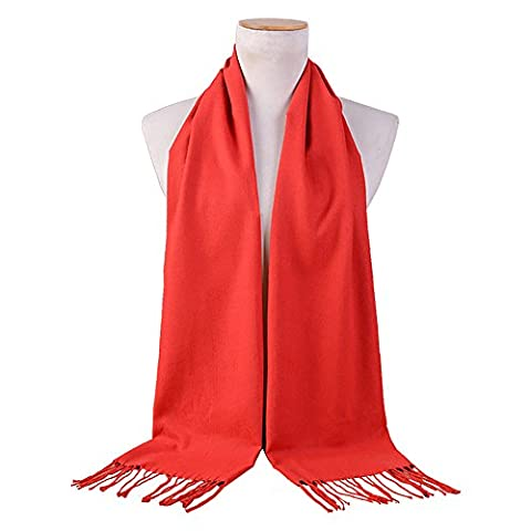 SPRING FEVER - Echarpe - Homme - rouge - Taille Unique