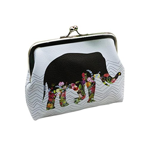 Price comparison product image Koly Women's Lady Elephant Wallet Card Holder Coin Purse Clutch Handbag