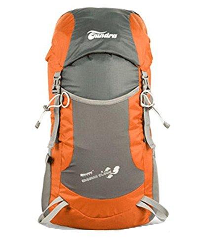 Ultraleggero impermeabile 35L zaino pieghevole, Skl arrampicata escursione borsa a tracolla, unisex, Blue Orange