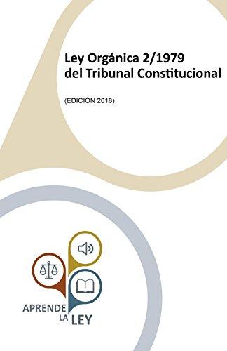 Ley Orgánica 2/1979 del Tribunal Constitucional por Aprende la Ley