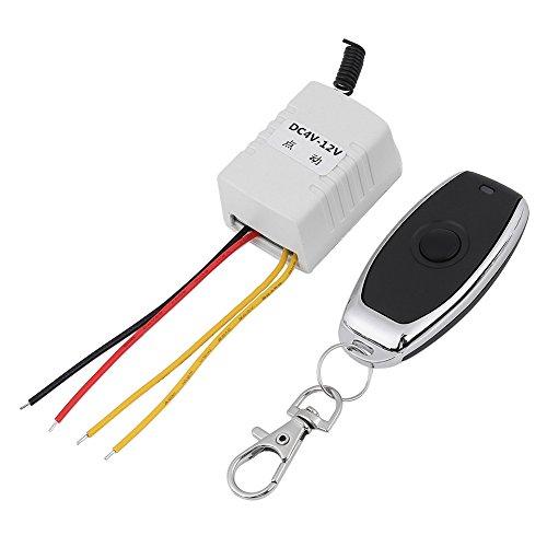 Interruptor de Control Remoto Inalámbrico DC4-12V 1 Canal 433Mhz Relé de RF Control Remoto Inalámbrico para Ordenador