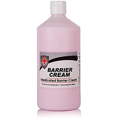 Medicated Barrier Cream Hand Protection (750ml). Protects The Skin From Winter Cold & Prevents Dermatitis - Comes With TCH Anti-Bacterial Pen!
