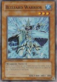 Yu-Gi-Oh! - Blizzard Warrior (HA01-EN002) - Hidden Arsenal - Unlimited Edition - Super Rare by Yu-Gi-Oh! - Yugioh Blizzard