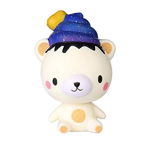 Spielzeug, Frashing Squishy toy Squishies Spielzeug Squeeze Langsam Rising Dekompressions-Spielzeug Stress Relief Nette sternenklare 13cm Poo (Bagger Kostüm Diy)