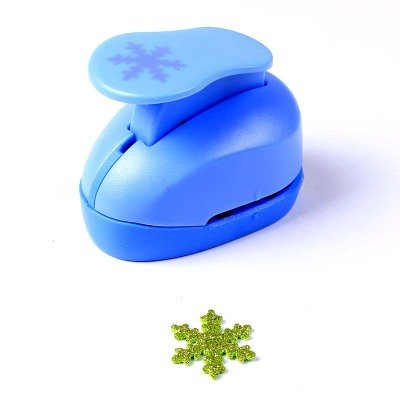Crafts Punch 1Papier Stempel DIY handgefertigt Stanzer Tag Maker EVA-Schaum Maker Snowflake ()